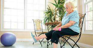 Seated and Standing Chair Exercises for Seniors